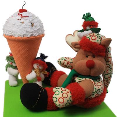 Curso de decoraci n navide a mu equer a en tela - Decoracion navidena fieltro ...